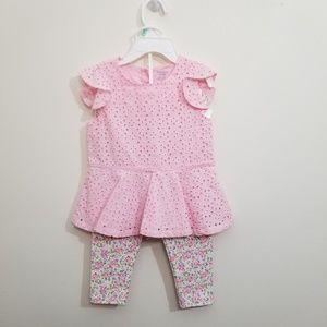 Ralph Lauren pink dress set
